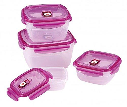 8-tlg. Vakuum-Dosen SET - mit Deckel - Vorratsdose - Aufbewahrungsdose - Vorratsbehälter - Frischhaltedosen - Dose - Vorratsgefäß - Vakuumdose