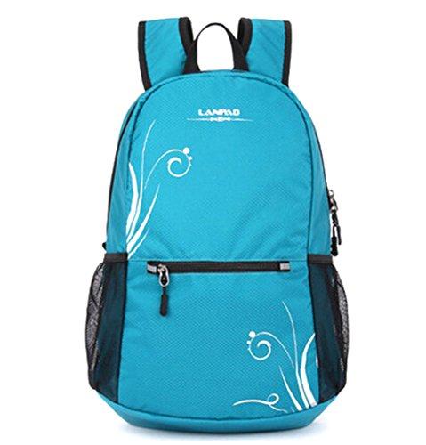 fanselatm-womens-durable-lightweight-polyester-backpack-travel-daypack-blue