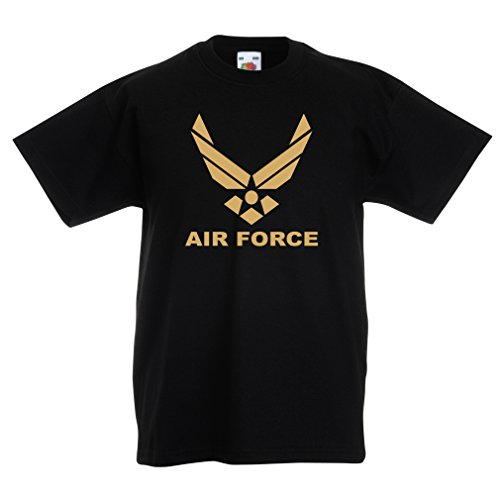lepni.me Kids Boys/Girls T-Shirt United States Air Force (USAF) - U. S. Army, USA Armed Forces