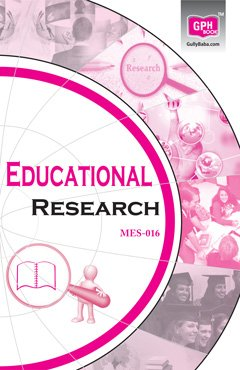MES16 Educational Research(ignou help book for MES-016 in English Medium)