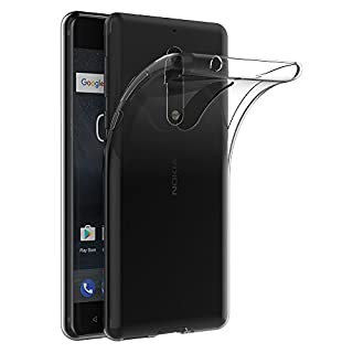 Nokia 5 Hülle, AICEK Transparent Silikon Schutzhülle für Nokia 5 Case Crystal Clear Durchsichtige TPU Bumper Nokia 5 Handyhülle