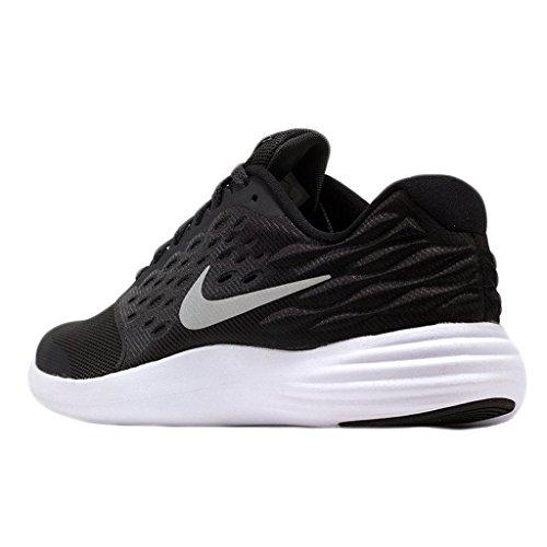 Nike Lunarstelos (GS), Chaussures de Running Entrainement Homme Noir