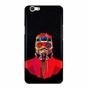DASM United Oppo F3 Premium Back Case Cover - Mask Man