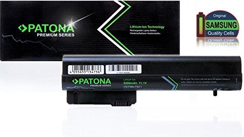 PATONA Premium Laptop Akku für HP Compaq 2400   2510p   NC2400   EliteBook 2530p   2540p   2533t - [ Li-ion; 5200mAh; schwarz]