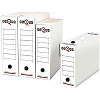 Dequa 41420 - Caja archivo definitivo, 50 unidades