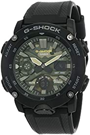 Casio G-Shock Mens Quartz Watch, Analog-Digital Display and Resin Strap - GA-2000SU-1ADR