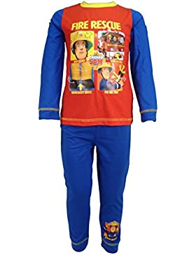 Fireman Sam Jungen Schlafanzug mehrfarbig mehrfarbig