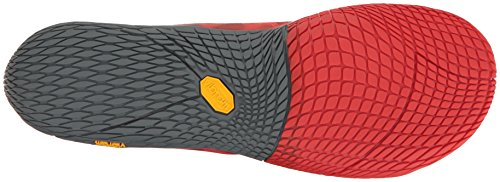 Merrell Vapor Glove 3, Scarpe Running Uomo Rosso (Molten Lava)