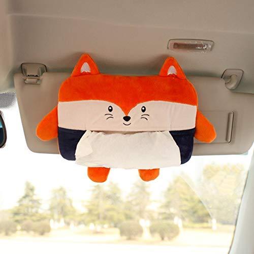 Bath Tissue Holder (CamKpell Cartoon Tier Auto Tissue Box Haning Pumpsack Autositz Tissue Holder Aufbewahrungsbox Auto Tissue Box Little Fox - bunt)
