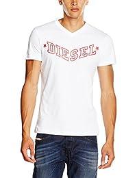 T-shirt Diesel T-Kritil pour homme en blanc