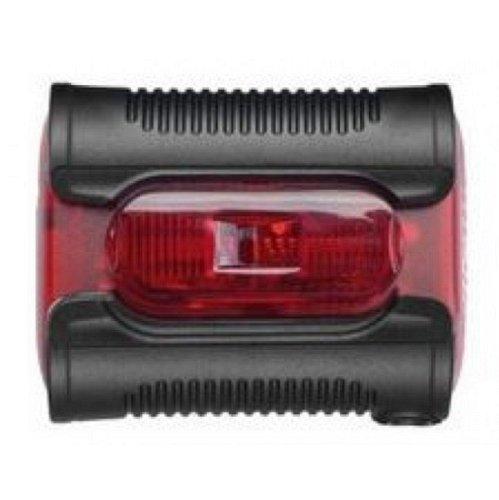 Batterie-Diodenrücklicht b&m, Ixback senso Gehäuse rot