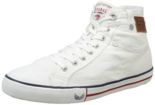 Kaporal Icarus, Sneakers Hautes homme Blanc