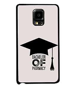 PrintVisa Designer Back Case Cover for Samsung Note Edge (Bachelor of pharmacy )