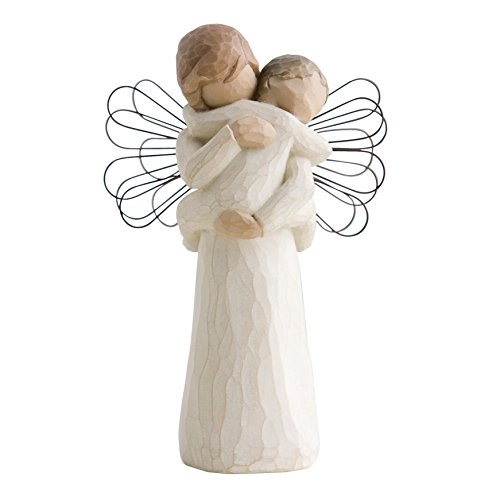 Willow Tree 26084 Figur Engel der Umarmung, 3,8 x 3,8 x 12,7 cm -