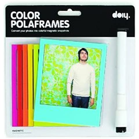 Magnéticos Polaframes color marco de fotos Polaroid fotos, frigorífico