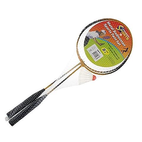 Ardisle Badminton Racket & Shuttlecock Set Pro Raquet Adults Children