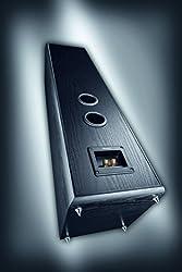 Magnat Monitor Supreme 802 I 1 Paar Standlautsprecher mit hoher Klangqualität I Passiv-Lautsprecherbox für anspruchsvollen HiFi-Sound – Schwarz