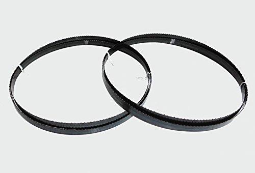 2 x Sägebänder Sägeband 2240 x 13 x 0,65 mm 6 ZpZ Holz Metabo Einhell Güde Atika