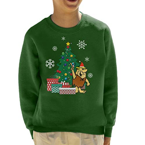 Cloud City 7 Barney Rubble Around The Christmas Tree Kid's Sweatshirt -