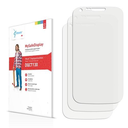 Vikuiti DQCT130 Samsung Galaxy S2 Titanium (T-Mobile) Schutzfolie von 3M [3er Set] kristallklare Displayschutzfolie Folie - S2 T-mobile Galaxy Case