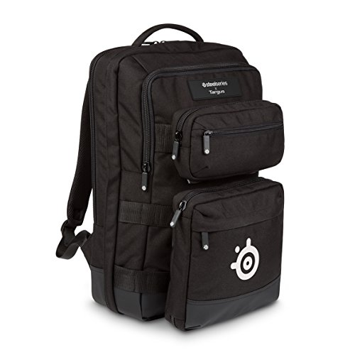 Targus SteelSeries Sniper – Mochila de gaming para dispositivos tecnológicos de hasta 17.3″, color negro