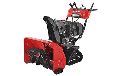 Hecht 9534 SQ Benzin Schneefräse Raupenantrieb 15 PS, E-Start, 6 Gänge, 87 cm Breite