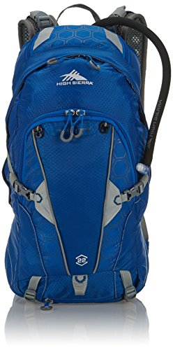 High Sierra Trekking Backpack Gallatin, 22 Liters, Royal Cobalt/Silver 60378 3859