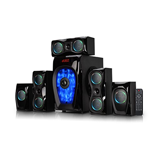 9. Artis MS 8877 5.1 120W Wireless Multimedia Speaker