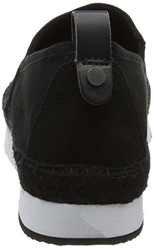 Calvin Klein Jeans Genna Canvas, Sneakers Basses Femme Noir (Black)