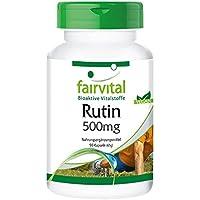 Rutine 500mg - Extrait de Sophora japonica (bourgeon, contient 95% rutine) 90 gélules véganes