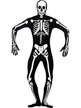 Kostüm Peau Seconde - Second Skin Skull Large