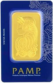 Suisse Pamp 24K (999.9) 5 Tolas Gold Bar - 58.32g