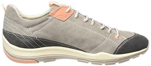 Geox Damen D Kander B Sneakers Grau (LT GREYC1010)