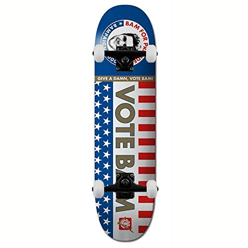 Element Skateboards Bam 4 President Skateboard 21 cm