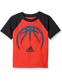 adidas Boys' Active Raglan Tee Shirt