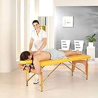 teqler T de 129851gb mobile Camilla de masaje en paquete ahorro, Amarillo