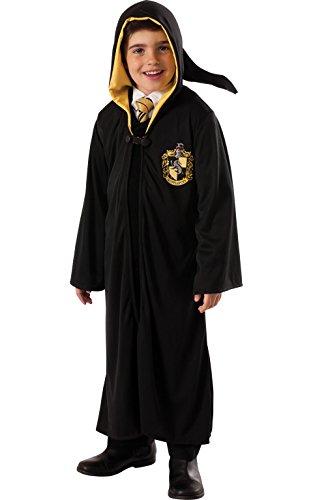 Tassorosso Robe - Harry Potter - per bambini Costume - grande - 147 centimetri - Ages 8/10