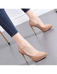 buscar el más nuevo gran venta de liquidación diseño elegante Amazon.es: Zapatos Color Nude - Zapatos para mujer / Zapatos ...