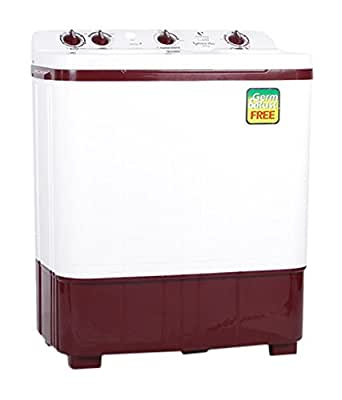 Videocon VS60B11 Typhoon Plus Semi-automatic Top-loading Washing Machine (6 Kg, Dark Maroon)