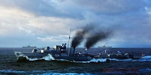 Trumpeter Trumpeter Trumpeter TP5333 Nave Huron Battleship Destroyer 1944 KIT 1:350 MODELLINO Model | Vendre Prix  798eee