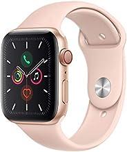 Apple Watch Series 5 (GPS+Cellular, 44 mm) Cassa in Alluminio, Oro e Cinturino Sport - Rosa Sabbia