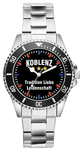 Koblenz Geschenk Artikel Idee Fan Uhr 2561