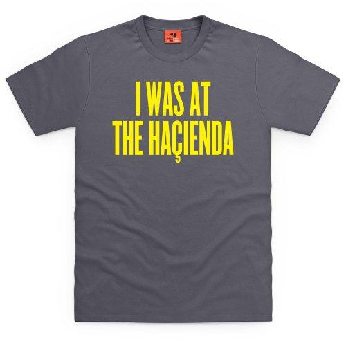 Happy Mondays Hacienda T-Shirt, Herren Anthrazit