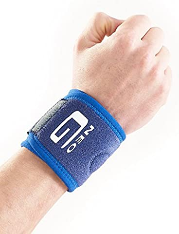 NEO G Wrist Band - Medical Grade Quality HELPS with strains, sprains, pain, injured, aching, weak, arthritic wrists, occupational & sporting injuries, everyday support & warmth – ONE SIZE Unisex Brace