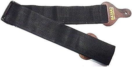 Bajaao GUITARSTRAPSTDBROWN Guitar Shoulder Strap, 2 inches, Brown
