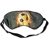 Eye Mask Eyeshade Burning Football Sleeping Mask Blindfold Eyepatch Adjustable Head Strap preisvergleich bei billige-tabletten.eu