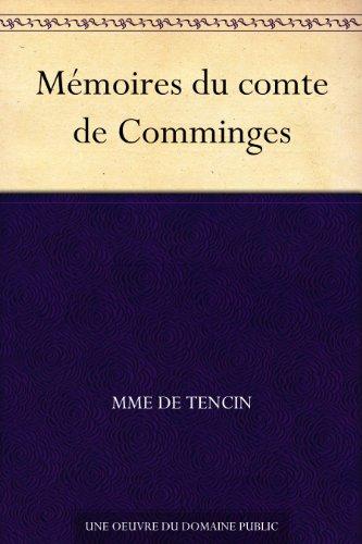 Mémoires du comte de Comminges