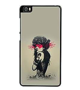 printtech Pop Culture Girl Back Case Cover for Xiaomi Redmi Mi5::Xiaomi Mi 5