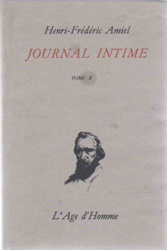 Journal intime, tome 10, juin 1874-mars 1877