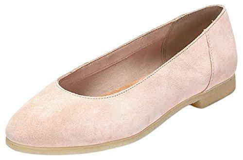 Clarks Ffion Ivy, Chaussons femme Rose (Light Pink)